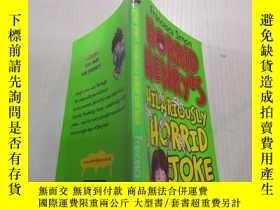 二手書博民逛書店Horrid罕見Henry s hilariously Horrid Joke Book: 可怕的亨利的滑稽可笑的