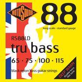 小叮噹的店 英國ROTOSOUND RS88LD (67-115) 電貝斯弦 黑色尼龍 平滑弦 旋弦公司貨