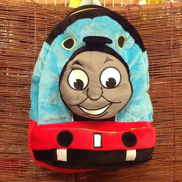 【發現。好貨】湯瑪士小火車 兒童後背包 外出包包 立體包包