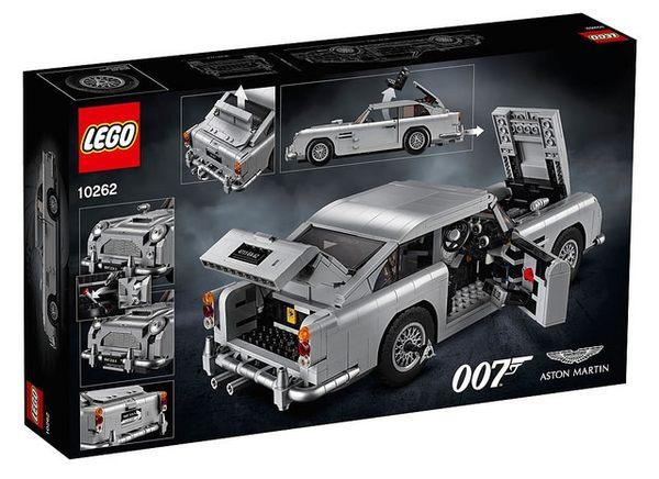 【LEGO樂高】詹姆士·龐德 奧斯頓馬丁DB5 #10262