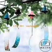 日式風鈴復古鐵器鈴鐺鯨魚庭院和風寺廟祈福掛飾門飾【輕派工作室】