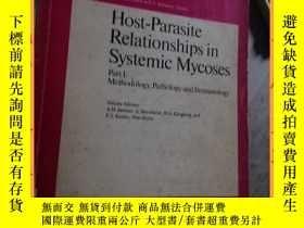 二手書博民逛書店英文書罕見contributions to microbiology and immunology host-pa
