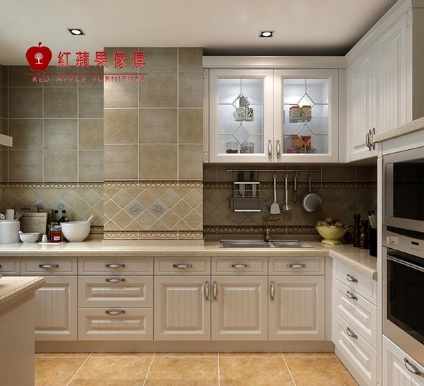 [紅蘋果傢俱] LC-06 全屋訂製 櫥櫃 系統櫃 大裡石櫥櫃 廚具 客制化產品