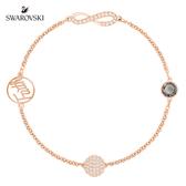 施華洛世奇 Remix Collection Infinity Symbol 典雅迷人鍍玫瑰金色飾鏈
