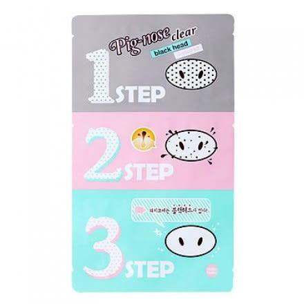 韓國HOLIKA魔法公主_豬鼻子黑頭打擊3步驟 【美日多多】