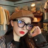 貝雷帽女復古皮質百搭八角帽畫家帽【少女顏究院】