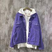 牛仔外套夾克男美式潮流休閒男士寬鬆工裝飛行員上衣·皇者榮耀3C旗艦店