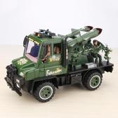 男孩玩具仿真導彈戰車模型坦克火箭運輸軍事車系列兒童慣性小汽車