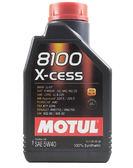 【MOTUL】 8100 X-CESS 5W40 5W-40法國原裝 全合成機油