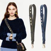 包包肩帶-小寬肩帶可調節包帶時尚百搭新款女包包配件斜挎單肩寬包帶