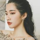 耳環 ins冷淡風金屬爆米花銀針耳釘女氣質韓國個性百搭時尚網紅耳環潮 古梵希