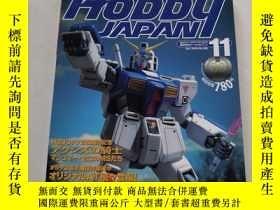 二手書博民逛書店ホビージャパン罕見Hobby JAPAN 1999、11 日文原