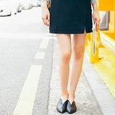 棉質短裙-時尚造型氣質優雅女裙子73hv48[時尚巴黎]