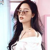 VEDI VERO 韓國墨鏡推薦 鈦 貓眼 太陽眼鏡 VE710 PK 玫瑰金 久必大眼鏡