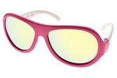 SHADEZ 兒童太陽眼鏡 SH15SHZ3 C48 (桃白) 無毒可彎折設計黃水銀款 適合3-7歲 # 金橘眼鏡