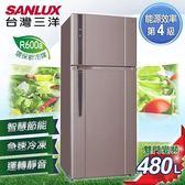 【SANLUX台灣三洋】480L 直流變頻電冰箱/SR-B480BV