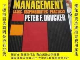 二手書博民逛書店罕見Management:Tasks,Responsibilities,PracticesY115089 Pe