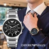EMPORIO ARMANI 亞曼尼 威震天下時尚精品錶 AR2434