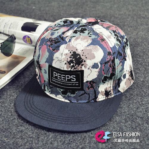 帽子 男女適用嘻哈街頭平沿鴨舌棒球帽 艾爾莎【TOY2270】