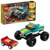LEGO 樂高 Creator 3 合 1怪物卡車玩具 31101 (163 件)