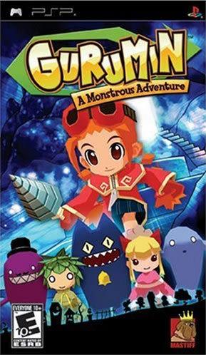 PSP Gurumin: A Monstrous Adventure 可樂米物語:怪異冒險(美版代購)
