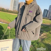 超火工裝棉服棉衣男士加厚外套棉襖冬季韓版潮流學生冬裝潮牌快速出貨