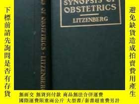 二手書博民逛書店SYNOPSIS罕見OF OBSTETRICS 原版英文書(英文