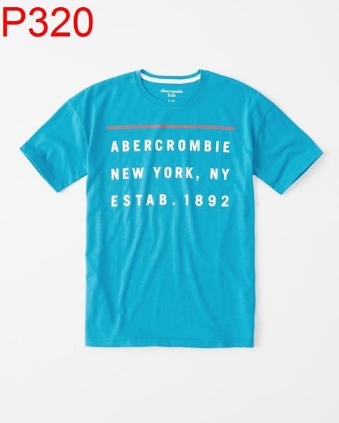 AF Abercrombie & Fitch A&F A & F KIDS 男 小孩款 當季最新現貨 T-SHIRT 小a P320