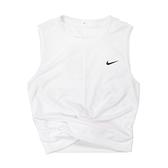 Nike 背心 Dri-Fit Training Vest 白 黑 女款 短版上衣 訓練 運動休閒 【ACS】 930494-100