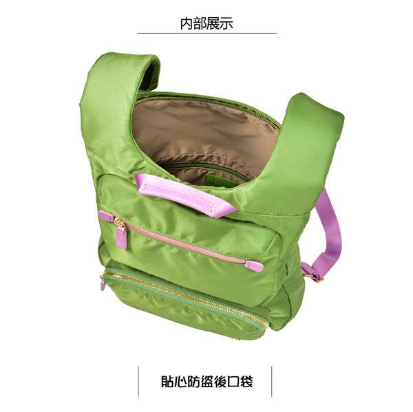 SUMDEX  防盜輕巧貼合後背包NOA-724TK柚木色