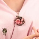 原創中國風配飾民族風毛衣胸針胸花別針復古氣質披肩扣女