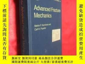 二手書博民逛書店Advanced罕見Fracture Mechanics (硬精