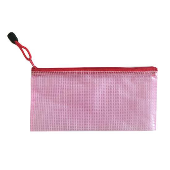 A4 A5 B5 A6 文件袋 手提袋 防水袋 資料袋 資料夾 拉鍊袋 文具袋 學生 網格拉鍊袋【B030】米菈生活館