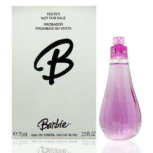 Barbie 芭比淡香水 75ml Tester 包裝