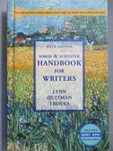 【書寶二手書T3/原文書_NOS】Simon & Schuster Handbook for Writers w