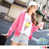 《KS0173》台灣品質.世界同布~夜跑反光條透氣抗UV外套.4色 OrangeBear