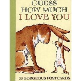【麥克書店】GUESS HOW MUCH I LOVE YOU (明信片組) 《母親節》