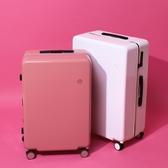 超輕網紅行李箱萬向輪女登機密碼旅行箱男24寸學生ins潮拉桿箱20 浪漫西街