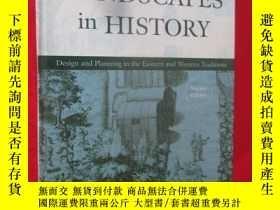 二手書博民逛書店Landscapes罕見in History (硬精裝) 【詳見