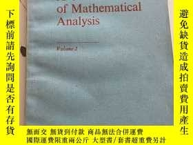 二手書博民逛書店A罕見Course of Mathematical Analysis(Volume 2)Y23470 S.M.