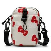 Converse 斜背包 Hello Kitty X COMMS POUCH 米白 紅 女款 蝴蝶結 聯名 【PUMP306】 10008211A02