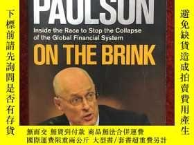 二手書博民逛書店On罕見the Brink: Inside the Race to Stop the Collapse of th