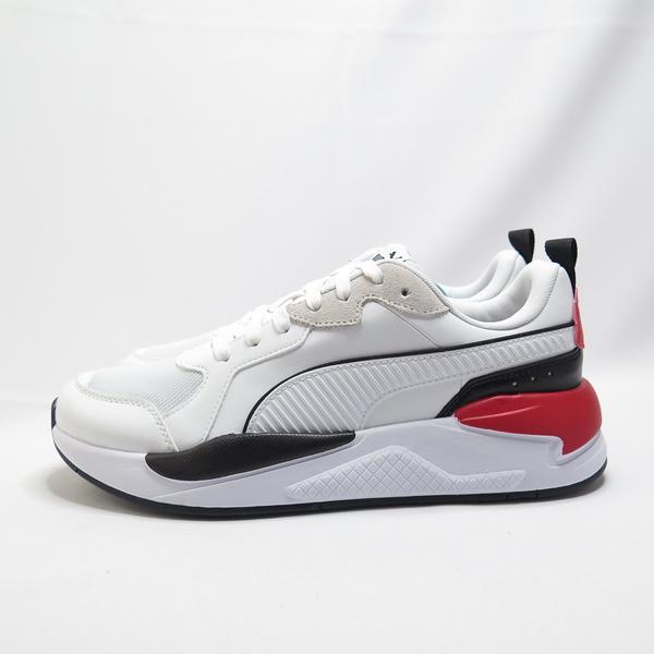 PUMA X-RAY GAME 男款 休閒鞋 37284901 白紅【iSport愛運動】