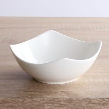 HOLA home 緻白骨瓷方湯碗14.5cm