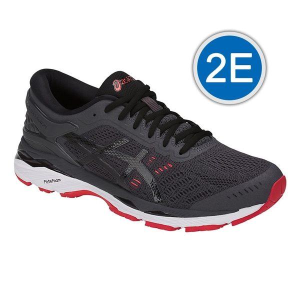 樂買網 ASICS 18SS 高階 支撐型 男慢跑鞋 KAYANO 24系列 2E寬楦 T7A0N-9590 贈運動襪