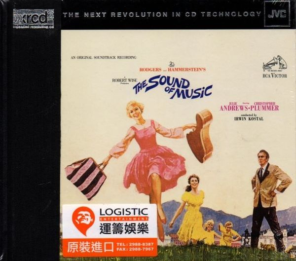 【停看聽音響唱片】【XRCD】THE SOUND OF MUSIC-AN ORIGINAL SOUNDTRACK RECORDING