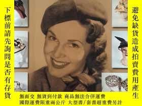 二手書博民逛書店high罕見fashion hats 1950-1980(高級時尚帽子)英文原版Y169804 Rose Ja