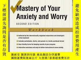 二手書博民逛書店Mastery罕見Of Your Anxiety And WorryY364682 Craske, Miche