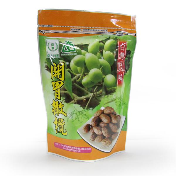 南化區農會 開胃橄欖-300g/包
