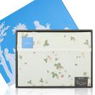 WEDGWOOD繽紛田園野莓毛蓋毯禮盒(粉綠)084619